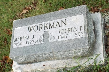 WORKMAN, MARTHA J - Ottawa County, Oklahoma | MARTHA J WORKMAN - Oklahoma Gravestone Photos