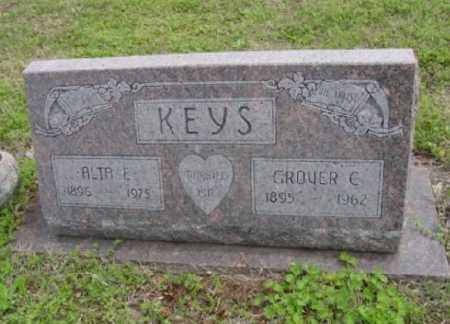 KEYS, GROVER CLEVELAND - Pawnee County, Oklahoma | GROVER CLEVELAND KEYS - Oklahoma Gravestone Photos