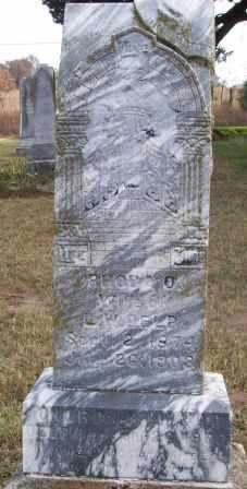 BICKHAM DELP, RHODA ONA - Payne County, Oklahoma   RHODA ONA BICKHAM DELP - Oklahoma Gravestone Photos
