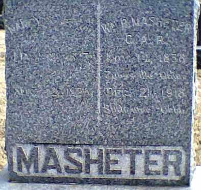 WOOD MASHETER, NANCY - Payne County, Oklahoma | NANCY WOOD MASHETER - Oklahoma Gravestone Photos