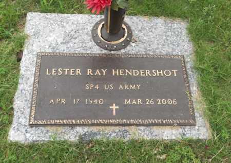 HENDERSHOT (VETERAN), LESTER RAY - Pittsburg County, Oklahoma | LESTER RAY HENDERSHOT (VETERAN) - Oklahoma Gravestone Photos
