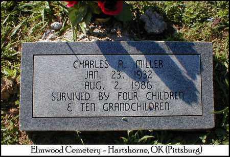 MILLER, CHARLES A. - Pittsburg County, Oklahoma | CHARLES A. MILLER - Oklahoma Gravestone Photos