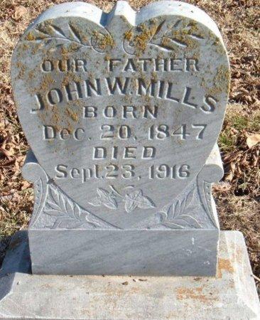 WILLIAM MILLS, JOHN - Pittsburg County, Oklahoma | JOHN WILLIAM MILLS - Oklahoma Gravestone Photos