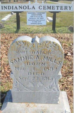 A. MILLS, SAMUEL - Pittsburg County, Oklahoma | SAMUEL A. MILLS - Oklahoma Gravestone Photos