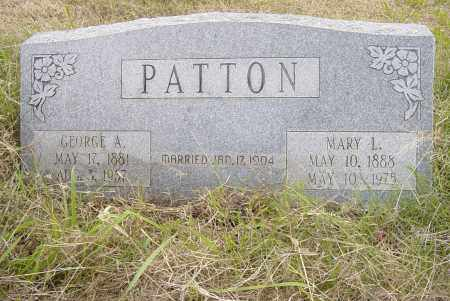PATTON, GEORGE ALBERT - Pittsburg County, Oklahoma | GEORGE ALBERT PATTON - Oklahoma Gravestone Photos