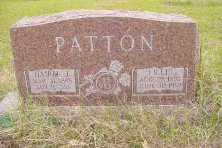 DUKE PATTON, LILLIE GREEN - Pittsburg County, Oklahoma | LILLIE GREEN DUKE PATTON - Oklahoma Gravestone Photos
