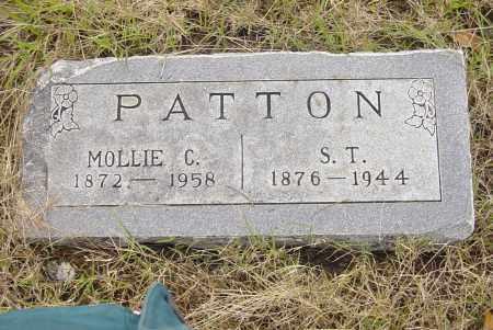 REDING PATTON, MOLLIE C - Pittsburg County, Oklahoma | MOLLIE C REDING PATTON - Oklahoma Gravestone Photos