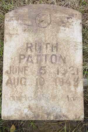 PATTON, RUTH NAOMI - Pittsburg County, Oklahoma | RUTH NAOMI PATTON - Oklahoma Gravestone Photos