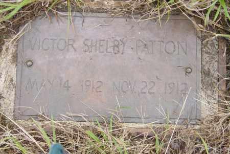 PATTON, VICTOR SHELBY - Pittsburg County, Oklahoma   VICTOR SHELBY PATTON - Oklahoma Gravestone Photos