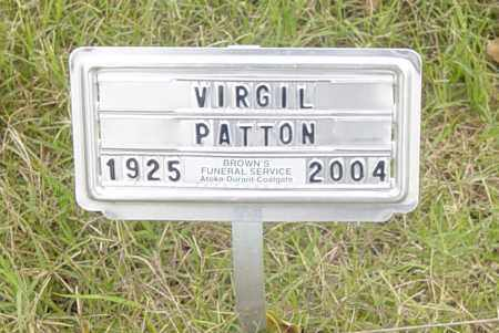 PATTON, VIRGIL THEODORE - Pittsburg County, Oklahoma | VIRGIL THEODORE PATTON - Oklahoma Gravestone Photos