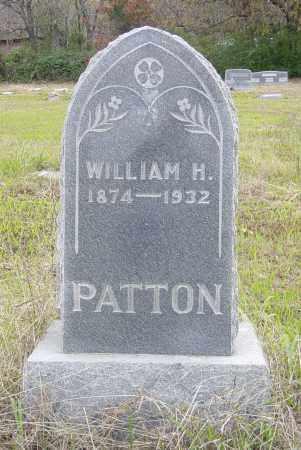 PATTON, WILLIAM HENRY - Pittsburg County, Oklahoma   WILLIAM HENRY PATTON - Oklahoma Gravestone Photos