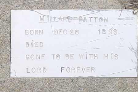 PATTON, ZEARL MILLARD - Pittsburg County, Oklahoma | ZEARL MILLARD PATTON - Oklahoma Gravestone Photos