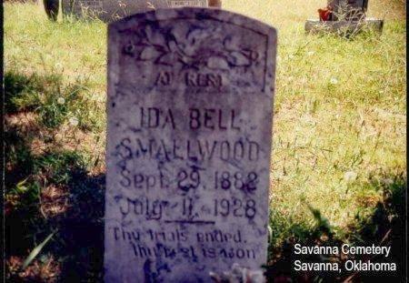 SMALLWOOD, IDA BELL - Pittsburg County, Oklahoma   IDA BELL SMALLWOOD - Oklahoma Gravestone Photos