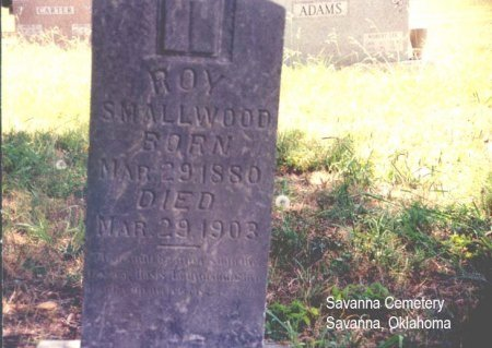 SMALLWOOD, LEROY - Pittsburg County, Oklahoma | LEROY SMALLWOOD - Oklahoma Gravestone Photos