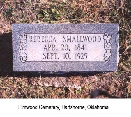 SMALLWOOD, REBECCA - Pittsburg County, Oklahoma   REBECCA SMALLWOOD - Oklahoma Gravestone Photos