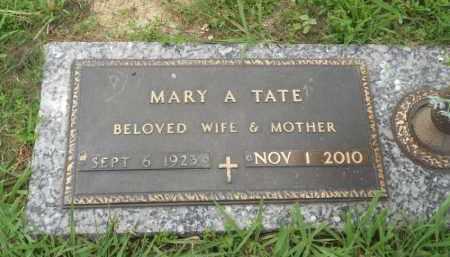 KIMP TATE, MARY ALENE - Pittsburg County, Oklahoma | MARY ALENE KIMP TATE - Oklahoma Gravestone Photos