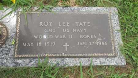TATE (VETERAN 2 WARS), ROY LEE - Pittsburg County, Oklahoma | ROY LEE TATE (VETERAN 2 WARS) - Oklahoma Gravestone Photos