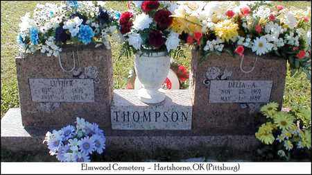 VANMETER THOMPSON, DELIA A. - Pittsburg County, Oklahoma | DELIA A. VANMETER THOMPSON - Oklahoma Gravestone Photos