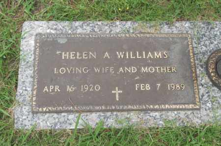 WILLIAMS, HELEN ALENE - Pittsburg County, Oklahoma | HELEN ALENE WILLIAMS - Oklahoma Gravestone Photos