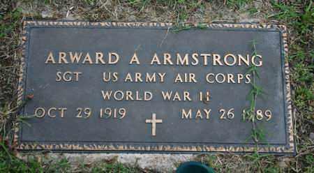 ARMSTRONG, ARWARD A.  US ARMY - Pontotoc County, Oklahoma | ARWARD A.  US ARMY ARMSTRONG - Oklahoma Gravestone Photos