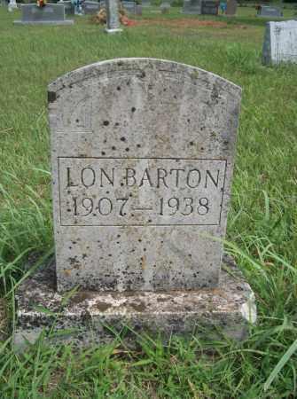 BARTON, LON - Pontotoc County, Oklahoma | LON BARTON - Oklahoma Gravestone Photos