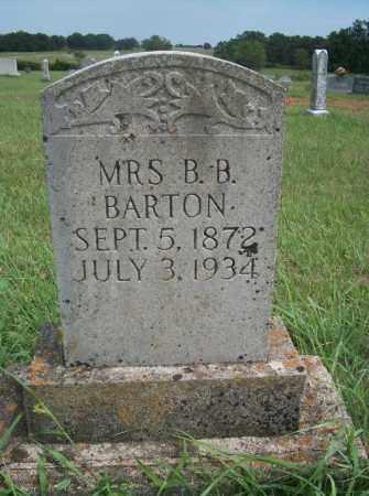 BARTON, MRS. B.B. - Pontotoc County, Oklahoma | MRS. B.B. BARTON - Oklahoma Gravestone Photos