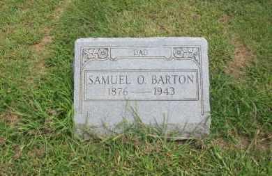 BARTON, SAMUEL M.O. - Pontotoc County, Oklahoma   SAMUEL M.O. BARTON - Oklahoma Gravestone Photos
