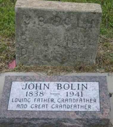 BOLIN, JOHN B. - Pontotoc County, Oklahoma | JOHN B. BOLIN - Oklahoma Gravestone Photos