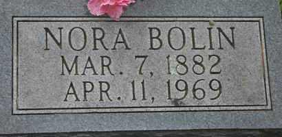 BOLIN, NORA - Pontotoc County, Oklahoma | NORA BOLIN - Oklahoma Gravestone Photos