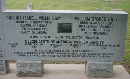 BRAY, WILLIAM STOKES - Pontotoc County, Oklahoma | WILLIAM STOKES BRAY - Oklahoma Gravestone Photos
