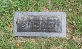 BROWN, MIRANDA - Pontotoc County, Oklahoma | MIRANDA BROWN - Oklahoma Gravestone Photos