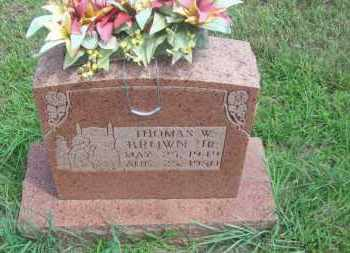 BROWN, THOMAS W. JR. - Pontotoc County, Oklahoma | THOMAS W. JR. BROWN - Oklahoma Gravestone Photos
