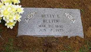 BUTLER, ELIZABETH BETTY E. - Pontotoc County, Oklahoma | ELIZABETH BETTY E. BUTLER - Oklahoma Gravestone Photos