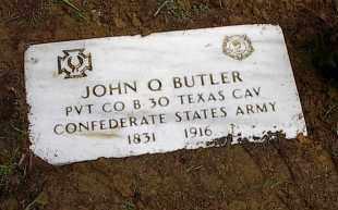 BUTLER, JOHN QUINCY ADAMS - Pontotoc County, Oklahoma   JOHN QUINCY ADAMS BUTLER - Oklahoma Gravestone Photos