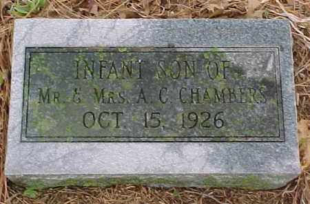 CHAMBERS, INFANT SON - Pontotoc County, Oklahoma | INFANT SON CHAMBERS - Oklahoma Gravestone Photos