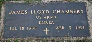 CHAMBERS, JAMES LLOYD  US ARMY - Pontotoc County, Oklahoma | JAMES LLOYD  US ARMY CHAMBERS - Oklahoma Gravestone Photos