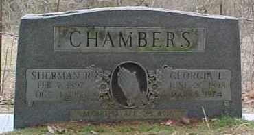 CHAMBERS, SHERMAN R. - Pontotoc County, Oklahoma | SHERMAN R. CHAMBERS - Oklahoma Gravestone Photos