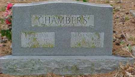 CHAMBERS, WILLIAM - Pontotoc County, Oklahoma | WILLIAM CHAMBERS - Oklahoma Gravestone Photos