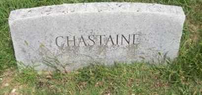 CHASTAINE, STANLEY - Pontotoc County, Oklahoma   STANLEY CHASTAINE - Oklahoma Gravestone Photos