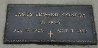 CONROY, JAMES E.  US ARMY - Pontotoc County, Oklahoma | JAMES E.  US ARMY CONROY - Oklahoma Gravestone Photos