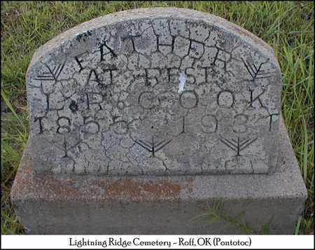 COOK, LEE ROY - Pontotoc County, Oklahoma | LEE ROY COOK - Oklahoma Gravestone Photos