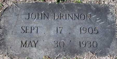 DRINNON, JOHN - Pontotoc County, Oklahoma   JOHN DRINNON - Oklahoma Gravestone Photos