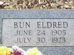 ELDRED, BUN - Pontotoc County, Oklahoma | BUN ELDRED - Oklahoma Gravestone Photos