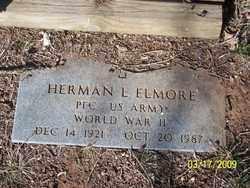 ELMORE, HERMAN L. - Pontotoc County, Oklahoma | HERMAN L. ELMORE - Oklahoma Gravestone Photos