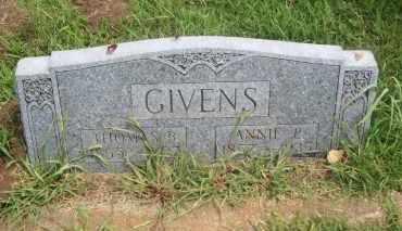 GIVENS, ANNIE P. - Pontotoc County, Oklahoma | ANNIE P. GIVENS - Oklahoma Gravestone Photos