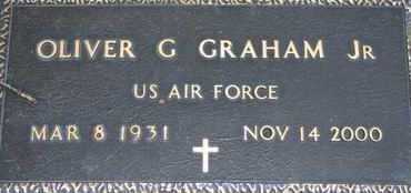 GRAHAM, OLIVER G. JR. - US ARMY - Pontotoc County, Oklahoma | OLIVER G. JR. - US ARMY GRAHAM - Oklahoma Gravestone Photos