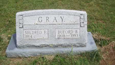 GRAY, BUFORD B. - Pontotoc County, Oklahoma | BUFORD B. GRAY - Oklahoma Gravestone Photos