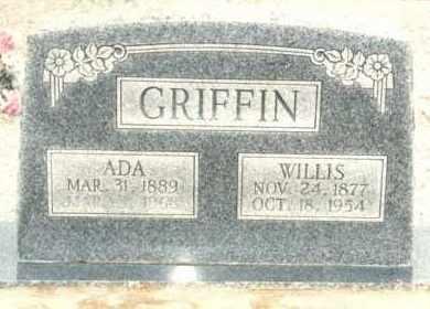 MCCURDY GRIFFIN, ADA - Pontotoc County, Oklahoma | ADA MCCURDY GRIFFIN - Oklahoma Gravestone Photos