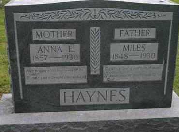 HAYNES, ANNA L. - Pontotoc County, Oklahoma | ANNA L. HAYNES - Oklahoma Gravestone Photos