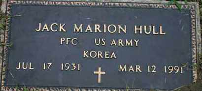 HULL, JACK M.   US ARMY - Pontotoc County, Oklahoma   JACK M.   US ARMY HULL - Oklahoma Gravestone Photos